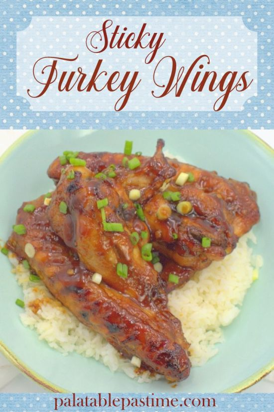 Sticky Turkey Wings