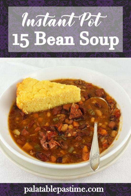 15 Bean Soup (Instant Pot)