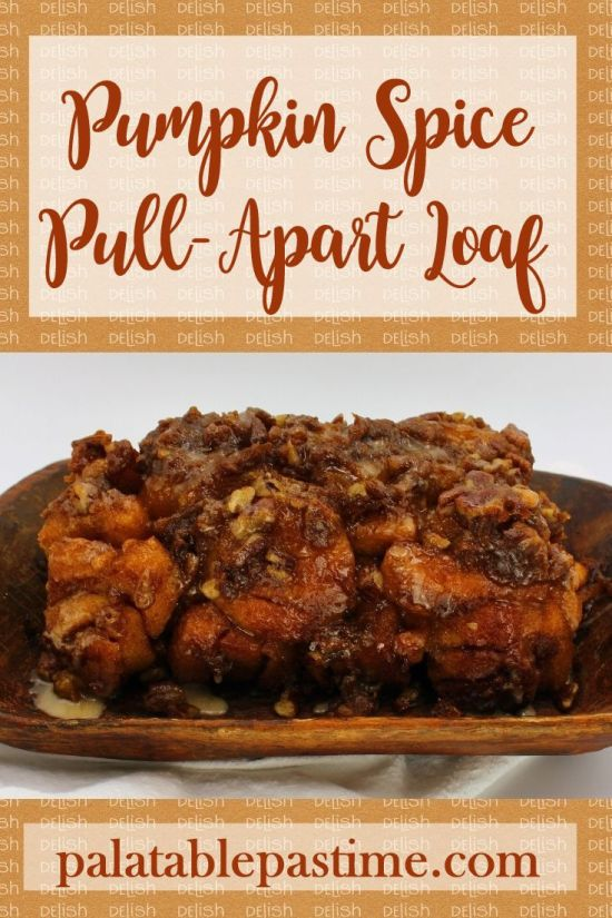 Pumpkin Spice Pull-Apart Loaf