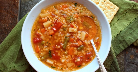 Vegetable Pastina Soup