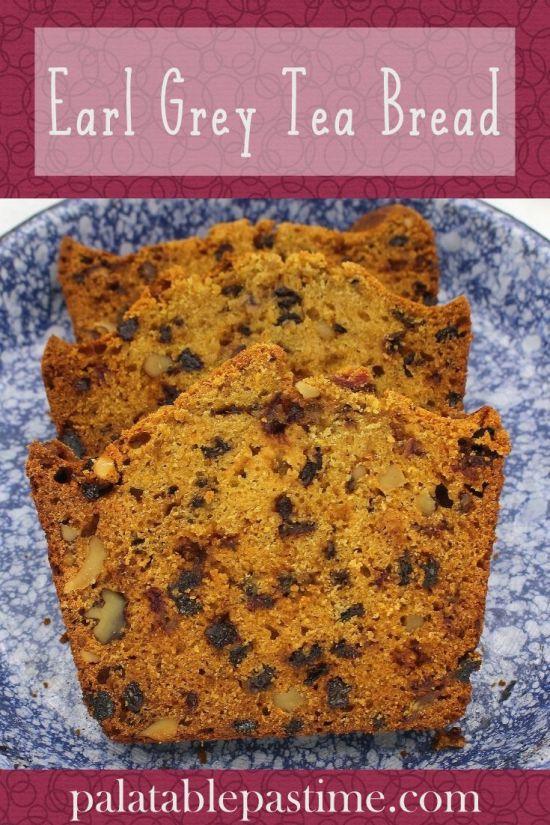 Earl Grey Tea Bread
