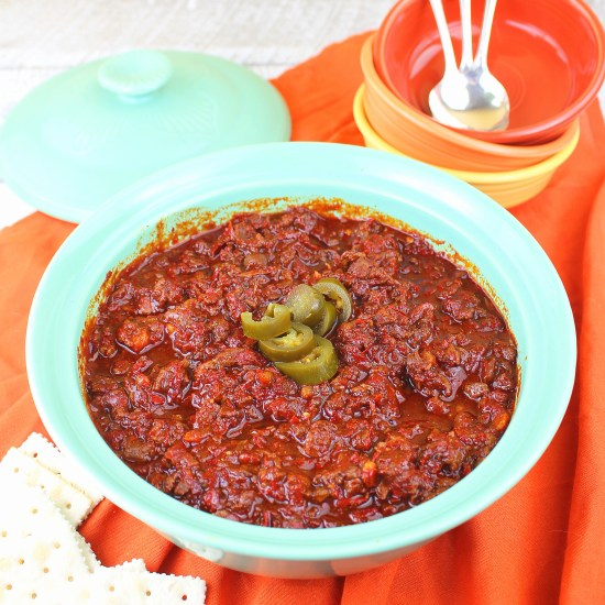 Slow Cooker Texas Chili