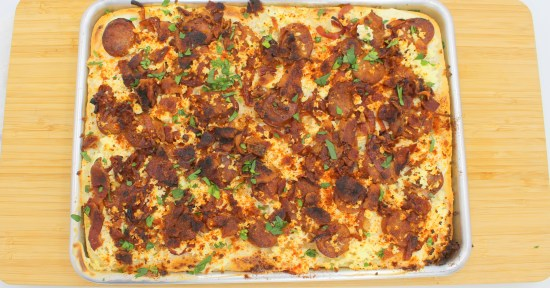 Langallo (Hungarian Pizza)