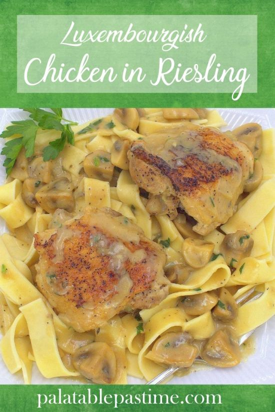 Chicken in Riesling
