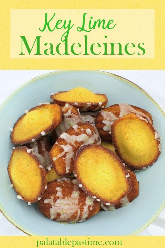Key Lime Madeleines