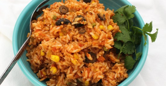 Mexican Style Rice (Instant Pot)