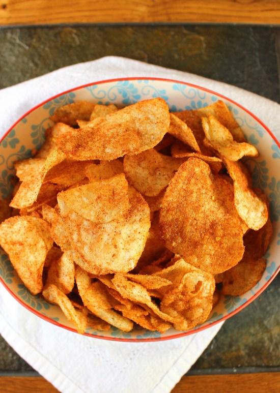 DIY Barbecue Potato Chips