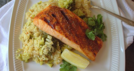 Steakhouse Grilled Salmon