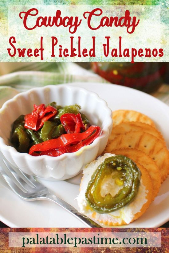 Cowboy Candy (Sweet Pickled Jalapenos)