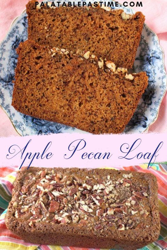 Apple Pecan Loaf