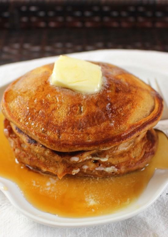 Coffee Maple Pancakes
