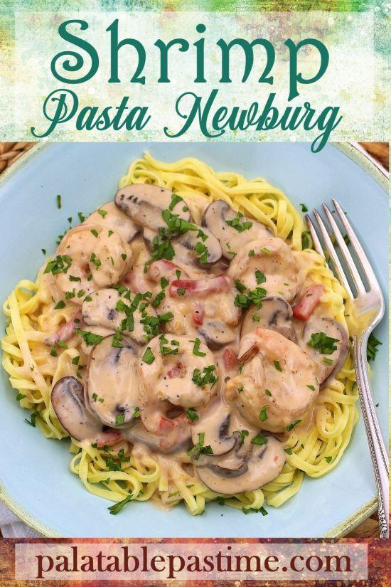 Shrimp Pasta Newburg