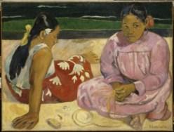 Gauguin, Femmes de Tahití, 1891