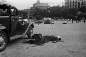 Centelles-Morts a la Plaça Catalunya,19-VII-1936