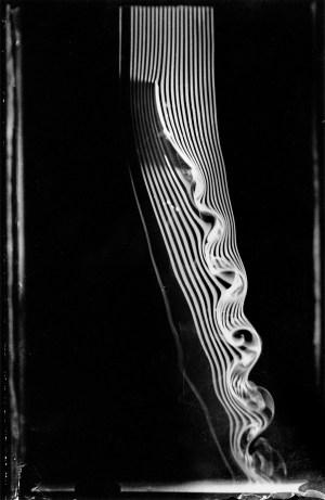 J. Marey. Photographies de courants de fumee pour etude des mouvements de l-air. 1899-1902