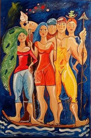 Viki Rivadulla A tribo do salitre