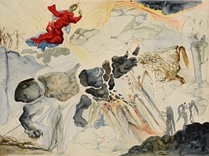 Dali_Rhinoceros en desintegration_1950