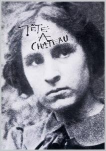 Anonimo. Retrato de Gala. Tête à chateau 1971
