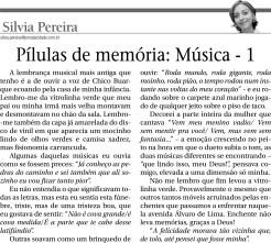 Pílulas de memória - Música 1 (2312)
