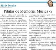 Pílulas de memória - Música 5 (2701)