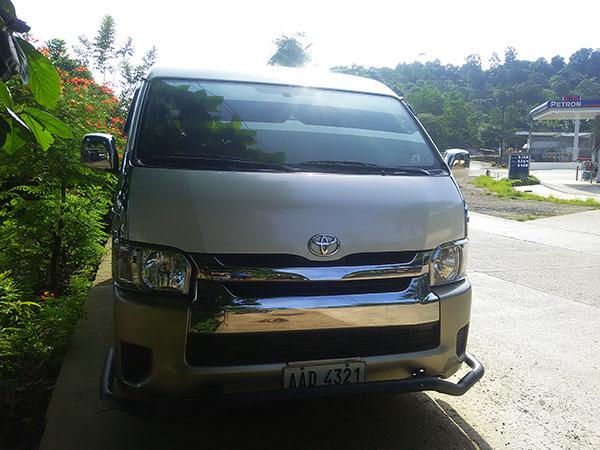 Private Van Charter Palawan