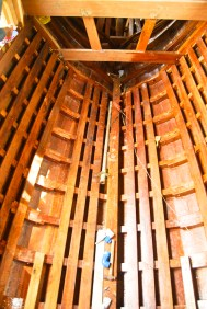 Hull interior