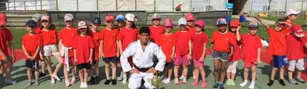 Bedel e Guica ospiti d'onore nelle scuole con il Judo Lubertas Porcia