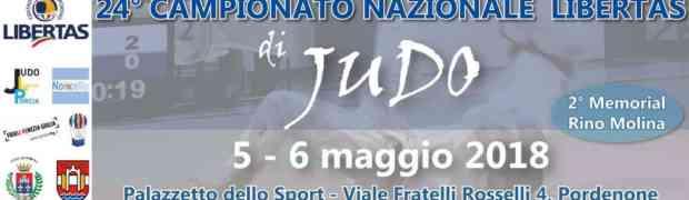 A Pordenone il 24° Campionato Nazionale Libertas di Judo