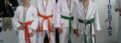Risultati gara Karate - Polisportiva Villanova