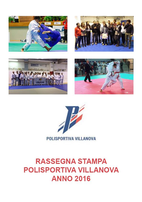 Rassegna stampa polisportiva Villanova 2016