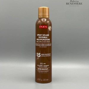 Multifunction Invisible Sunscreen Spray SPF 15