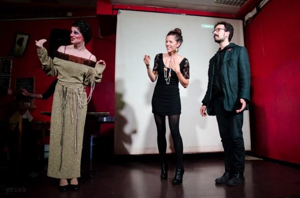 Foto di Antonio Sandro Crisà - Con N. Bernardi, S. Fraternali e M. Anelli