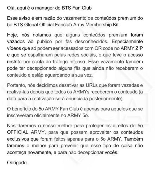 BTS Notícia