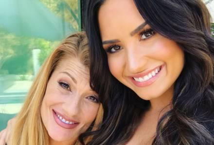 Demi Lovato e sua mãe