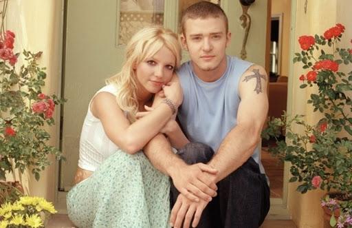 Britney e Timberlake á 20 anos atrás