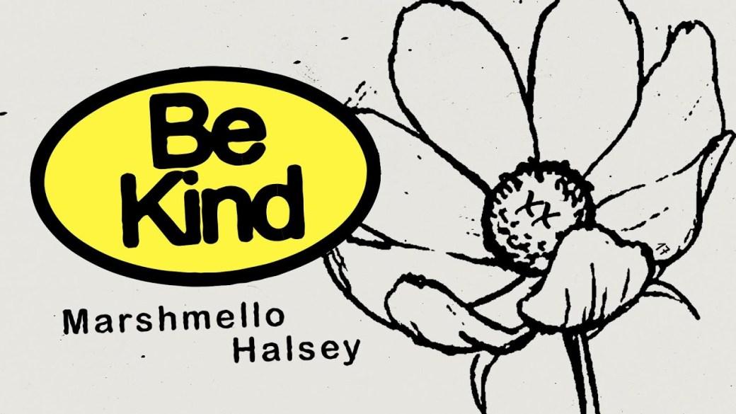 Capa do single Be Kind