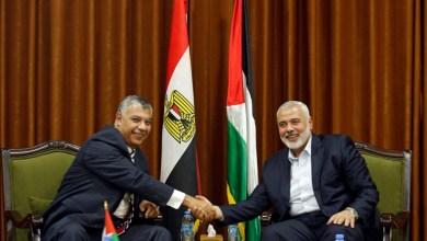 صورة حماس توافق على الورقة المصرية بشأن المصالحة