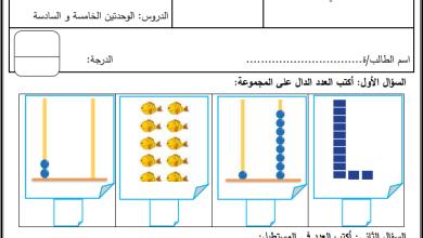 Photo of امتحان شهر ديسمبر لمبحث الرياضيات للصف الأول