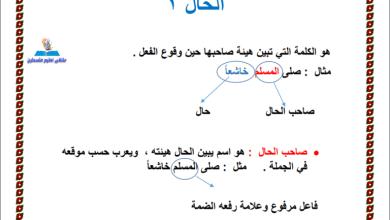 Photo of كل ما يلزم طالب الصف العاشر لتقديم امتحان نهاية الفصل الأول للغة العربية