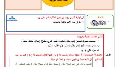 Photo of إجابة الدروس 1-3 من المادة الاستدراكية لمبحث اللغة العربية للصف الخامس