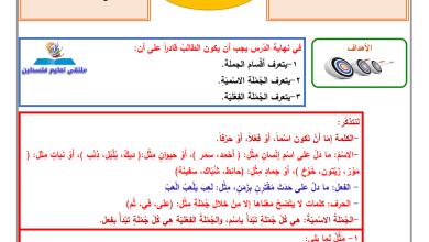 Photo of إجابة الدروس 4-6 من المادة الاستدراكية لمبحث اللغة العربية للصف الخامس