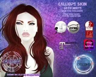 Forty Two Calliope Goth White Ad