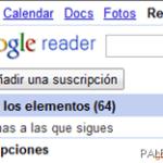 Google Reader y suscripciones aFuentesRSS