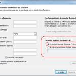 Outlook 2010: Cambios respecto a versiones anteriores I