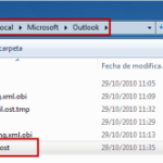 Outlook Hotmail Connector: Ubicación del archivo OST