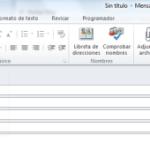 Outlook 2010: Opciones avanzadas para nuevos mensajes
