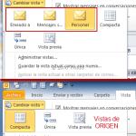 Outlook: Vistas de origen y crear nuevas