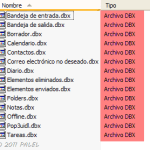 Exportar mensajes desde Outlook Express hasta Outlook 2010 (32 bits) en Windows 7