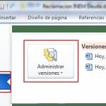 Office 2010 Recuperar documentos sin guardar y versiones anteriores II