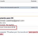 Office/Outlook: Modificar y Guardar documentos adjuntos a un mensaje de correo